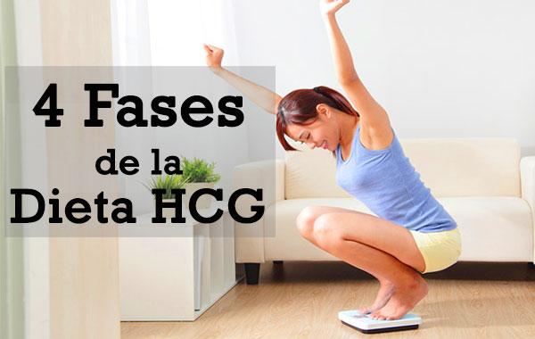 dieta hcg fases